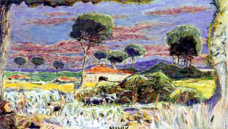 Pierre Bonnard - Landscape of the Midday