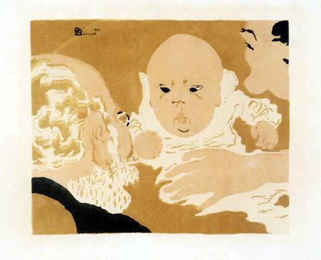 Pierre Bonnard - Familienszene