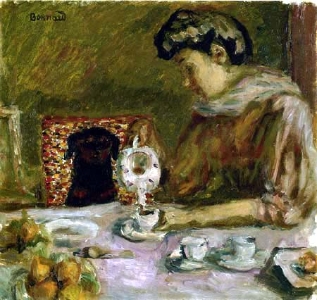Pierre Bonnard - Le cafe