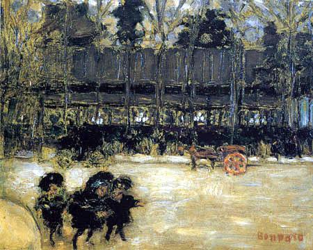 Pierre Bonnard - The big boulevards
