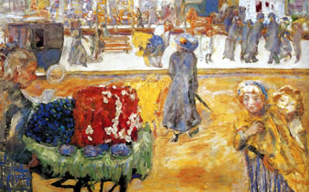Pierre Bonnard - Evening in Paris