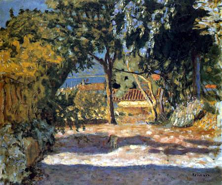 Pierre Bonnard - Vue de Saint-Tropez, L'Avenue