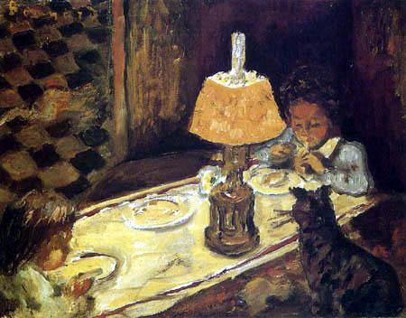 Pierre Bonnard - Das Frühstück der Kinder