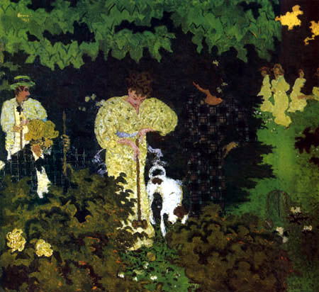 Pierre Bonnard - Le croquet