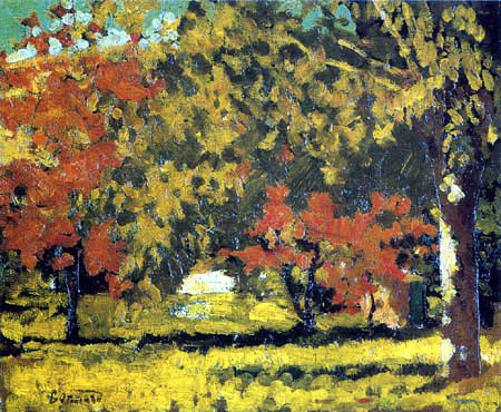 Pierre Bonnard - Grand-Lemps, Herbst