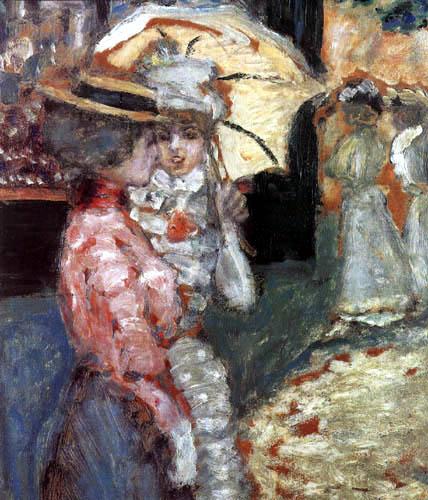 Pierre Bonnard - Der Spaziergang