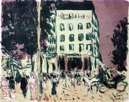 Pierre Bonnard - Die Boulevards
