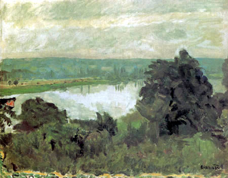 Pierre Bonnard - The Seine at Vernon