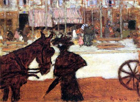 Pierre Bonnard - A horseshoe horse