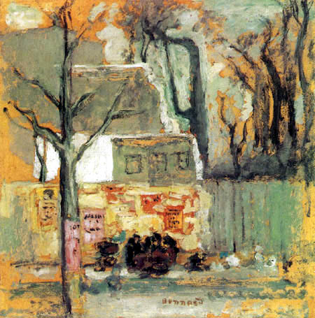 Pierre Bonnard - A corner of Paris