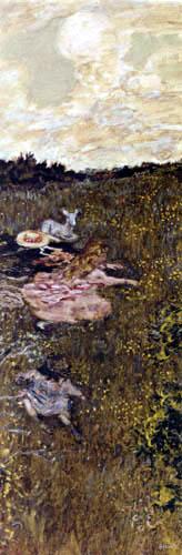 Pierre Bonnard - Kinder und Zicklein
