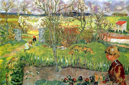 Pierre Bonnard - First spring days