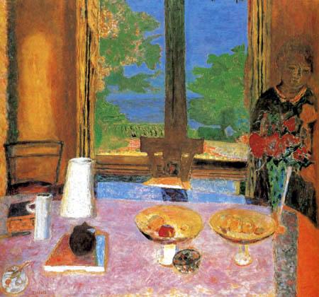 Pierre Bonnard - Esszimmer auf dem Land