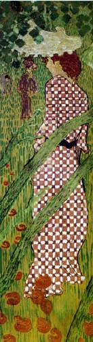 Pierre Bonnard - Frauen im Garten, Panel 3