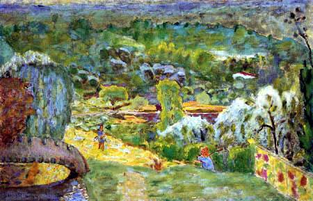 Pierre Bonnard - Paysage de printemps