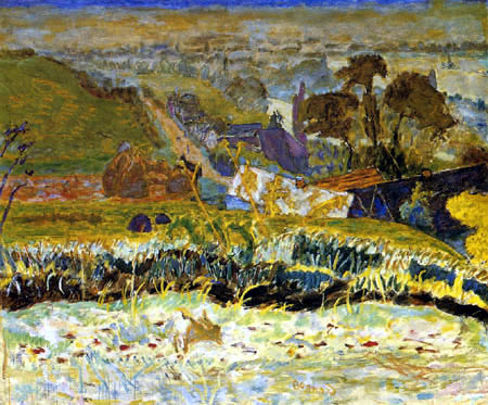 Pierre Bonnard - Autumn morning, Great view on Vernon