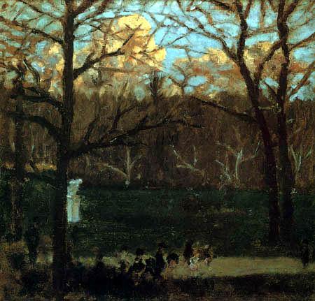 Pierre Bonnard - In the Park