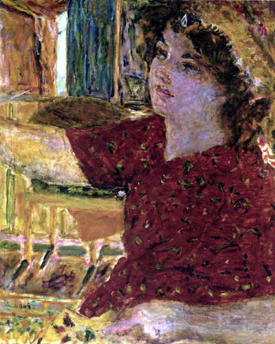Pierre Bonnard - Young woman