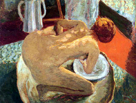 Pierre Bonnard - La femme au tub