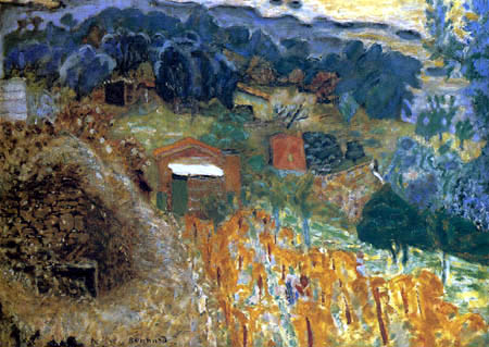 Pierre Bonnard - Country houses in Cannet