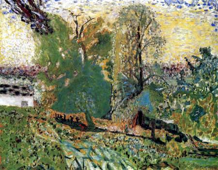 Pierre Bonnard - Landscape in Normandy