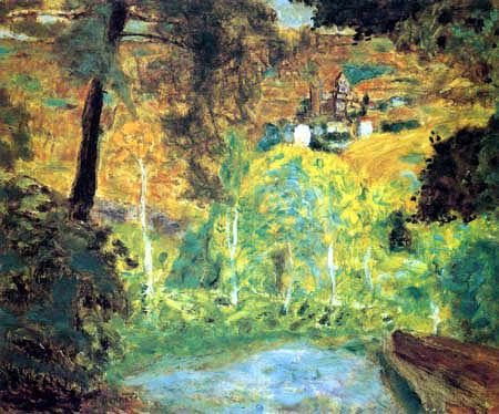 Pierre Bonnard - Landscape in the sun