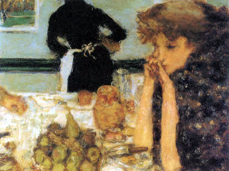 Pierre Bonnard - Breakfast of Misia