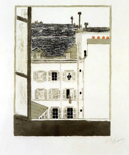 Pierre Bonnard - House in the Yard