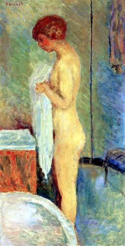 Pierre Bonnard - Marthe beim Ankleiden