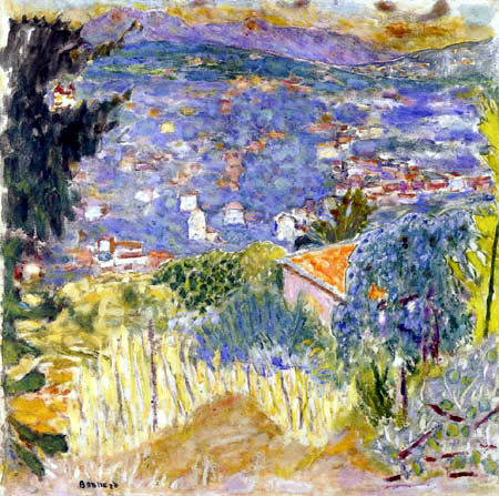 Pierre Bonnard - Landscape of Cannet