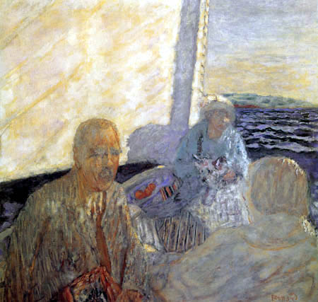 Pierre Bonnard - Sailing, Family Hahnloser