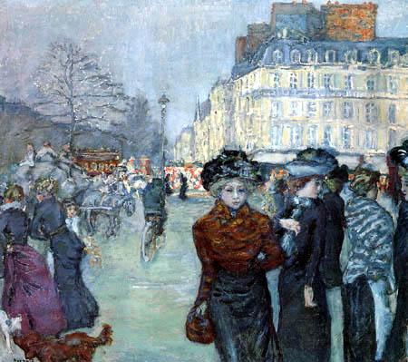 Pierre Bonnard - Place Clichy