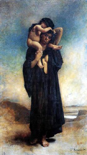 Léon Joseph Bonnat - Fellachin mit Kind