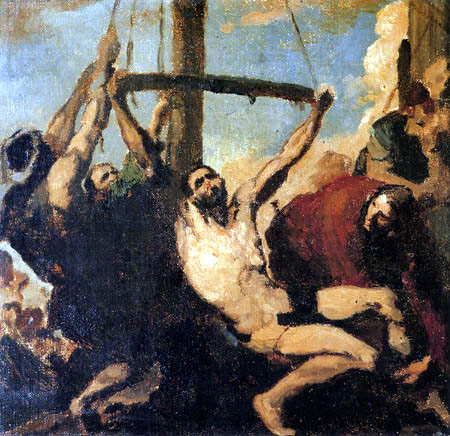 Léon Joseph Bonnat - The Martyrdom of Saint Philip
