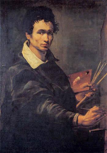 Orazio Borgianni - Self Portrait