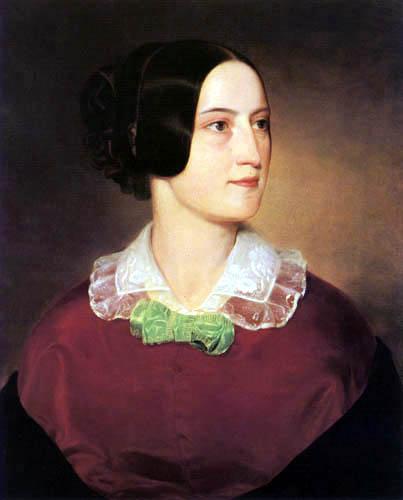 József Borsos - Portrait of a Woman