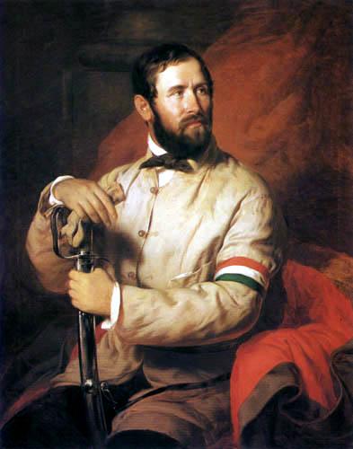 József Borsos - Ungarischer Nationalgardist