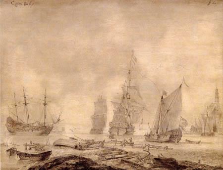Casper van den Bos - Ships from Hoorn