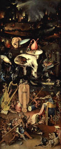 Hieronymus Hieronymus - The garden of the delights - Hell