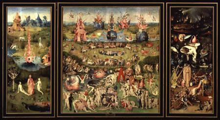 Hieronymus Bosch - Der Garten der Lüste, gesamt