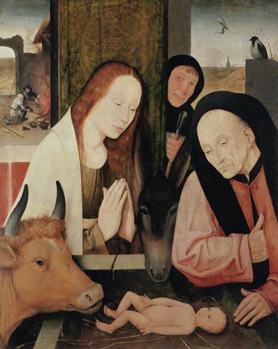Hieronymus Hieronymus - The Adoration of the child