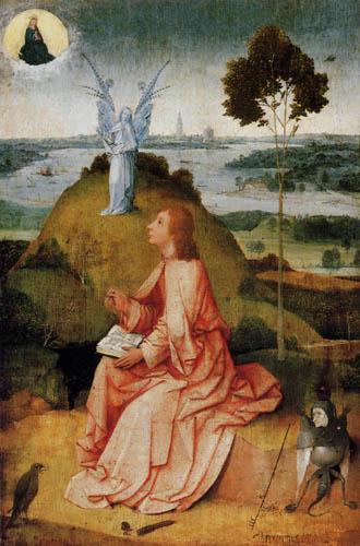 Hieronymus Hieronymus - Johannes auf Patmos
