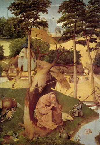 Hieronymus Hieronymus - The temptation of the St  Anthony