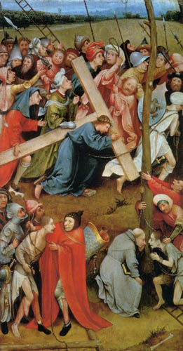 Hieronymus Hieronymus - Christ on the road to Calvary