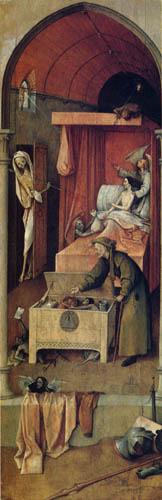 Hieronymus Hieronymus - Death of the Miser