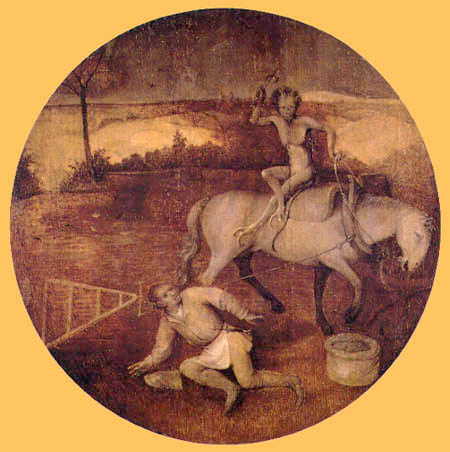 Hieronymus Hieronymus - The Deluge, Humanity Haunted by Demons