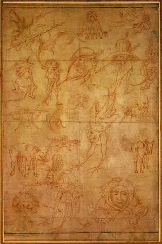 Hieronymus Hieronymus - Study of Monsters