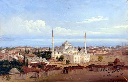 Carlo Bossoli - View of Constantinople