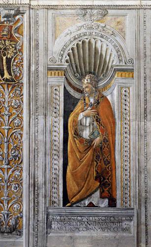 Sandro Botticelli - Hl. Sixtus II.