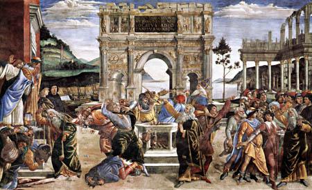 Sandro Botticelli - Aus dem Leben Moses